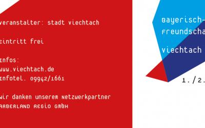 """Programm: """"Bayerisch-böhmisches Freundschaftsfest"""" am 1./2. Juni 2019"""
