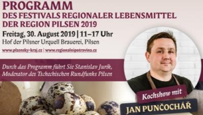 """Vorankündigung: """"Festival der regionalen Lebensmittel 2019"""" in Pilsen"""