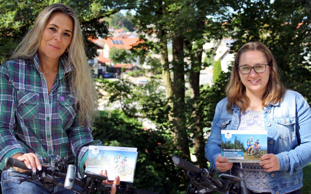 Mit dem Mountainbike-Buch durchs ARBERLAND – jetzt auch auf Tschechisch