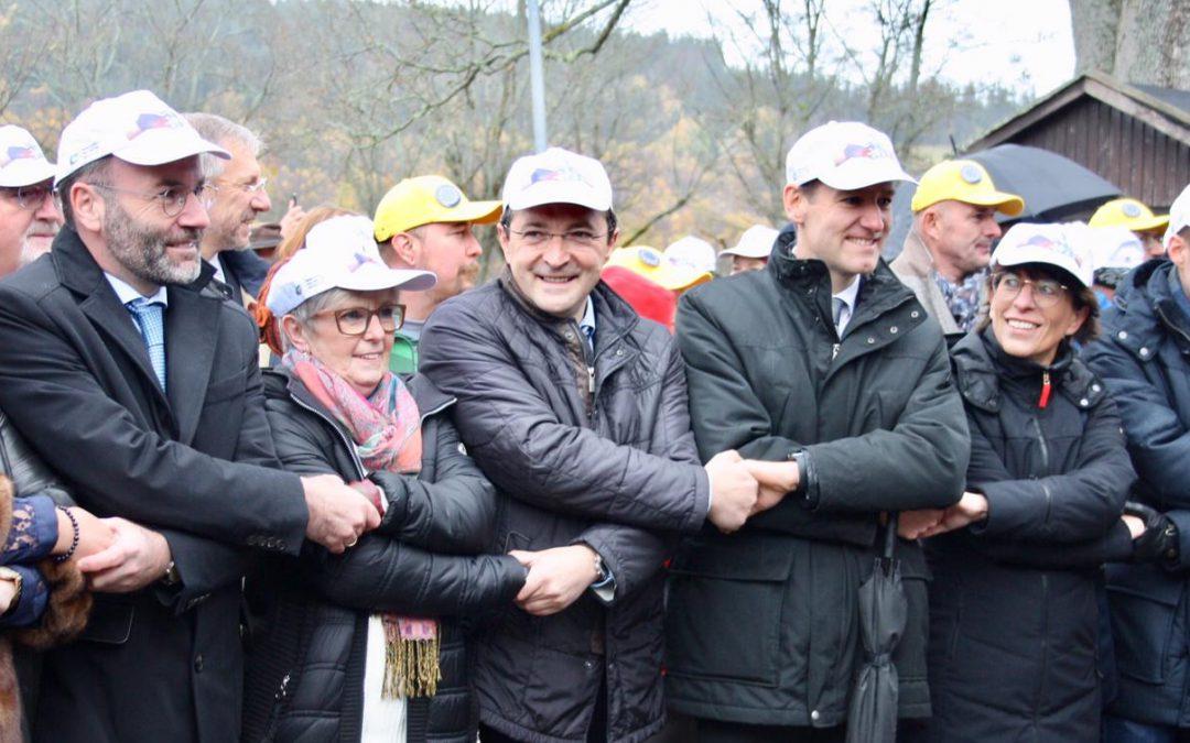 1.500 Deutsche und Tschechen feiern 30 Jahre Grenzöffnung