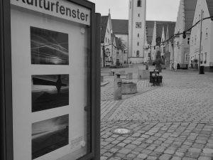 """Fotografická výstava """"Zelený pás"""" v centru města Schwandorf"""